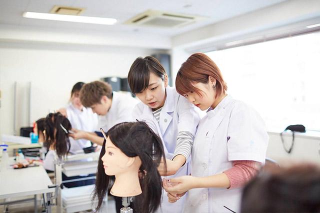 学校説明会 | 東京の美容学校で美容師のプロを目指す|マリールイズ美容専門学校