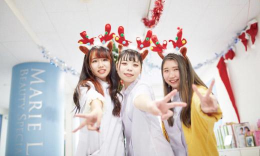 学校紹介 | 東京の美容学校で美容師のプロを目指す|マリールイズ美容専門学校